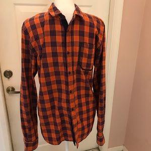 Scotch & Soda long sleeve shirt with pocket detail